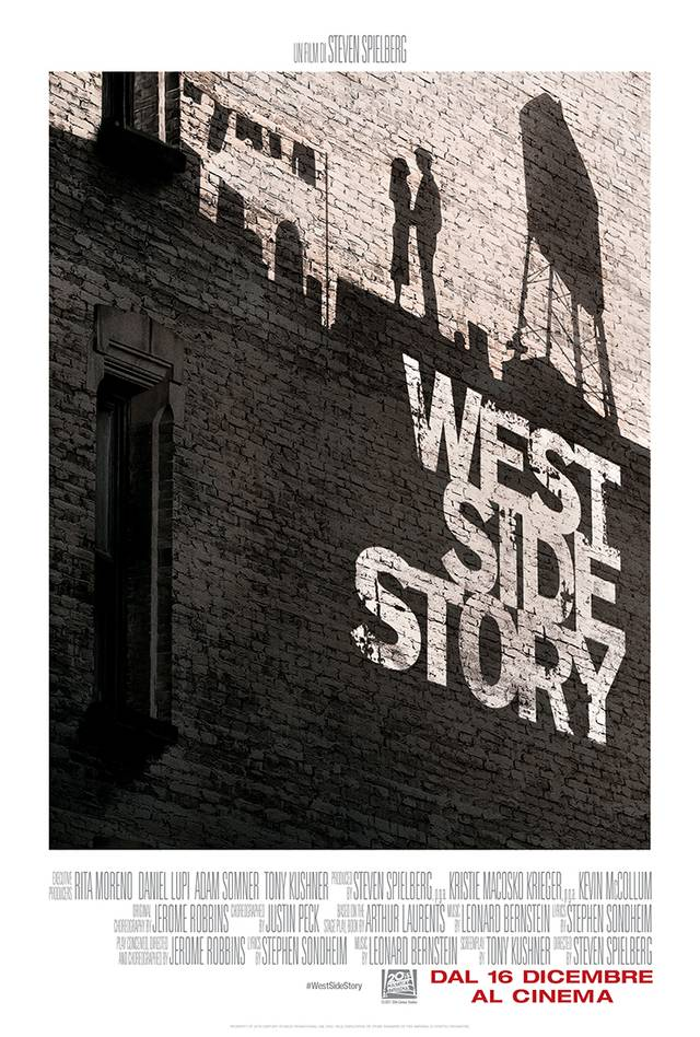 West Side Story Poster Italia