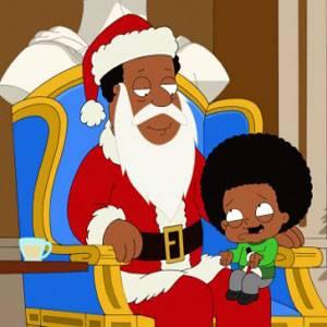 Babbo Natale nero