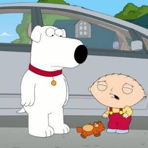 Stewie fa un giro in macchina