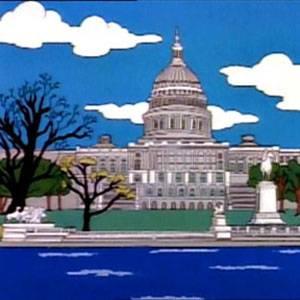 Il signor Lisa va a Washington
