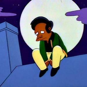 Homer e Apu