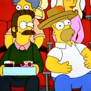 Homer ama Flanders