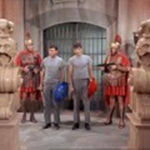 Nell'arena coi gladiatori