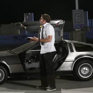 Chuck vs. la Delorean