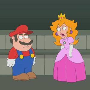 Super Mario Rescues the Princess