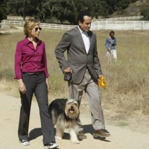 Il signor Monk e il cane