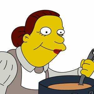 Doris Lunchlady la cuoca
