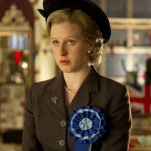 Margaret Thatcher da giovane