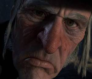Ebenezer Scrooge / Ghost of Christmas Past / Ghost of Christmas Present / Ghost of Christmas Yet To Come