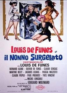 Louis de Funès e il nonno surgelato