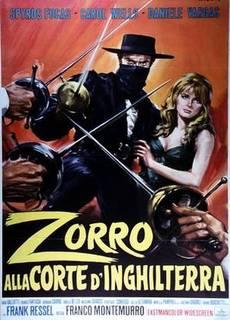 Zorro alla corte d'Inghilterra