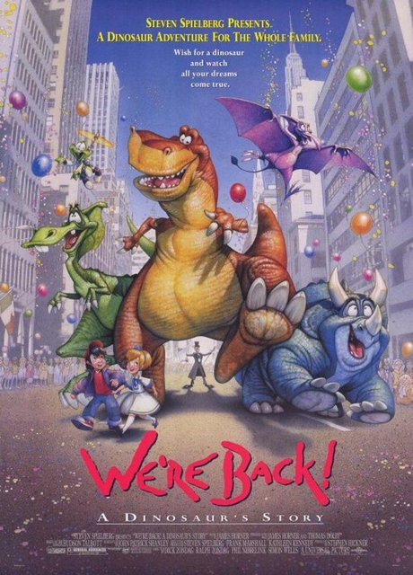We'Re Back! - 4 Dinosauri a New York