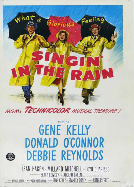 Cantando sotto la pioggia