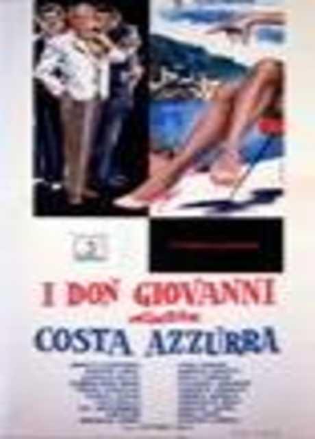I Don Giovanni della Costa Azzurra
