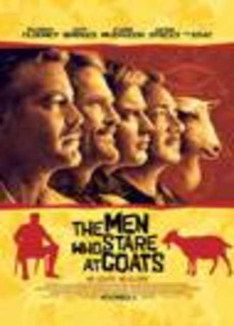 L'uomo che fissa le capre