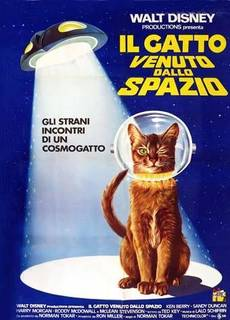 Il gatto venuto dallo spazio