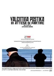 Valentina Postika in attesa di partire