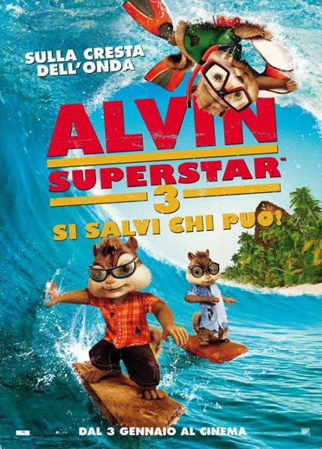 Alvin Superstar 3: si salvi chi può