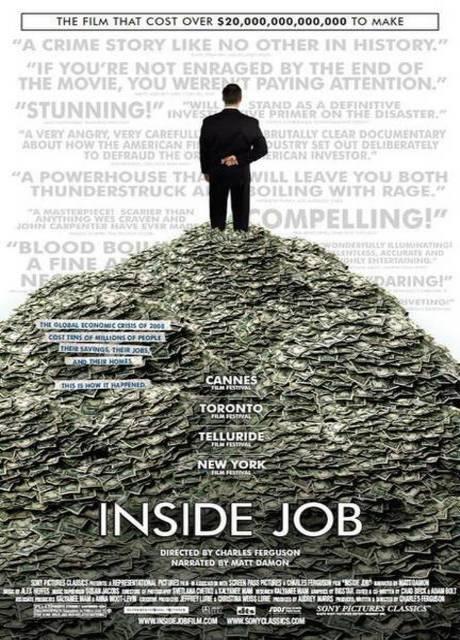 Inside Job: chi ci ha rubato il futuro?