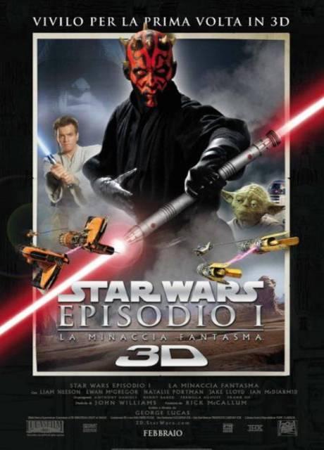 Star Wars: Episodio I - La minaccia fantasma 3D