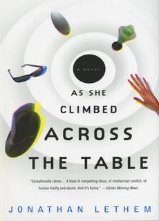 As She Climbed Across the Table