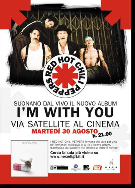 Red Hot Chili Peppers live I'm with you