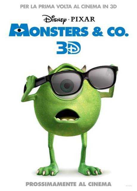 Monsters & Co. 3D