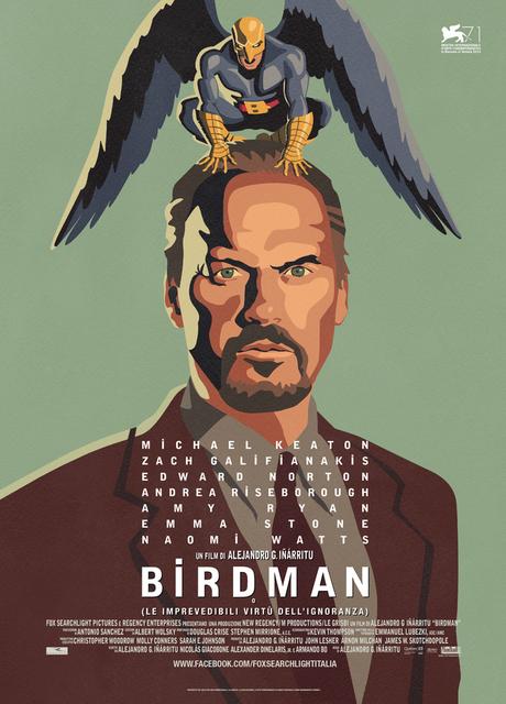 Birdman (o l'imprevedibile virtù dell'ignoranza)
