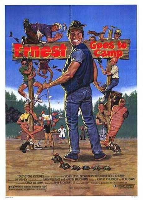 Ernesto guai in campeggio