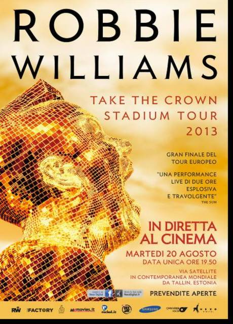 Robbie Williams - Take the Crown Stadium Tour