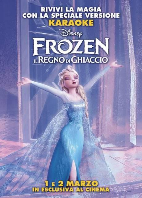 Frozen - Il Regno di Ghiaccio (Versione Karaoke)