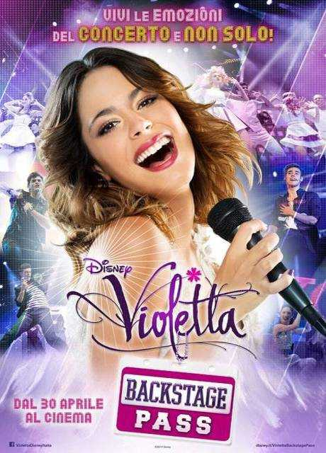 Violetta - Backstage Pass
