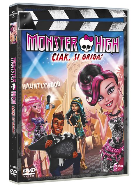 Monster High: Ciak si Grida