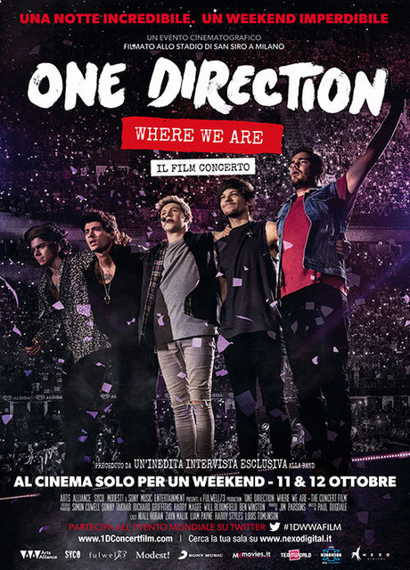 One Direction: Where We Are – Il Film concerto