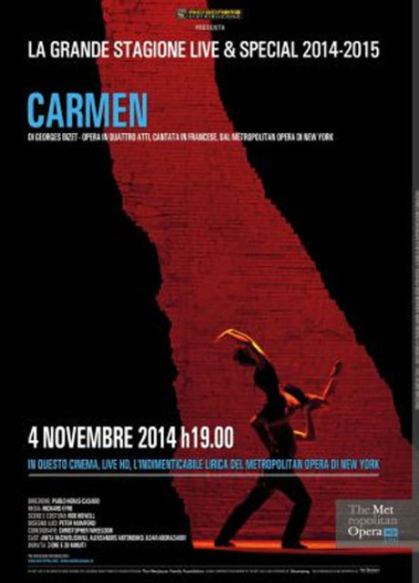 The Metropolitan Opera di New York: Carmen