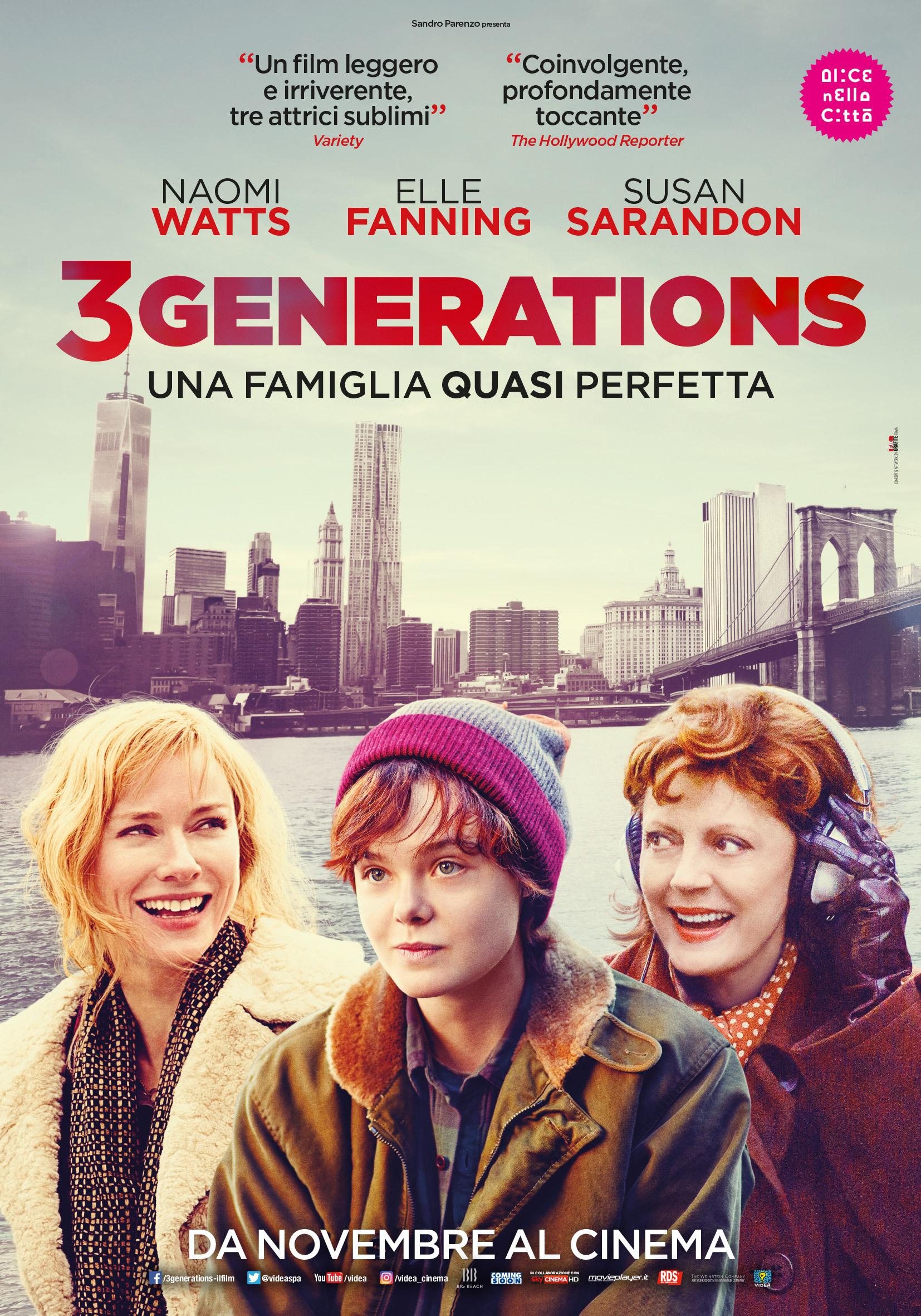 Wall street il denaro non dorme mai amazon it michael douglas - 3 Generations Una Famiglia Quasi Perfetta