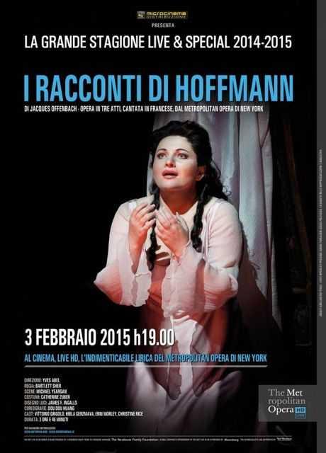 Metropolitan Opera di New York: I racconti di Hoffmann