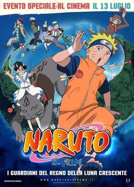 Naruto - I Guardiani del Regno della Luna Crescente