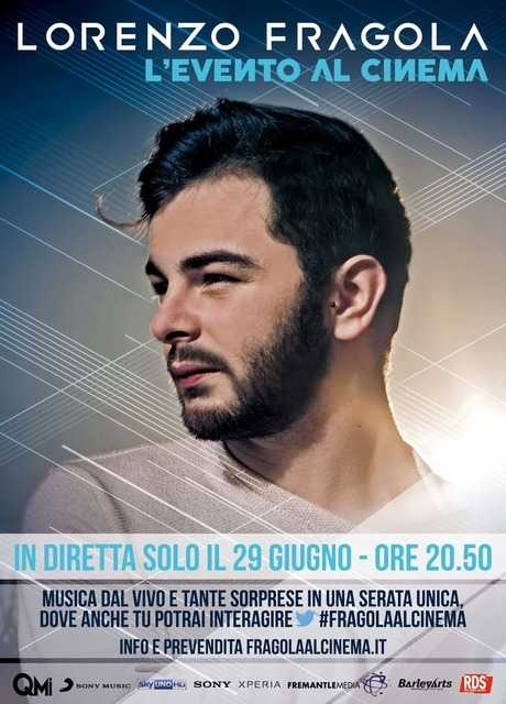 Lorenzo Fragola - L'evento al cinema