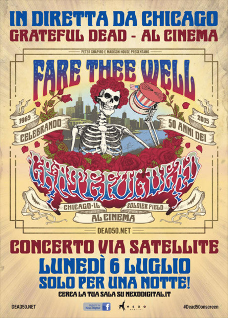 Grateful Dead: Fare Thee well LIVE