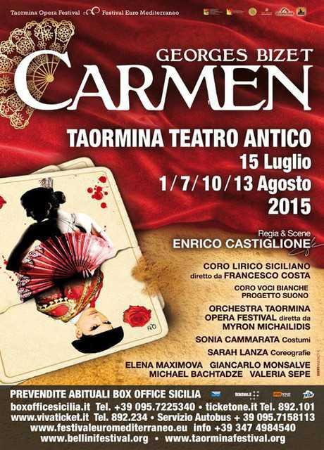 Teatro Antico di Taormina: Carmen
