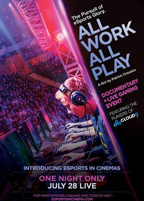 ESL eSports - All Work All Play