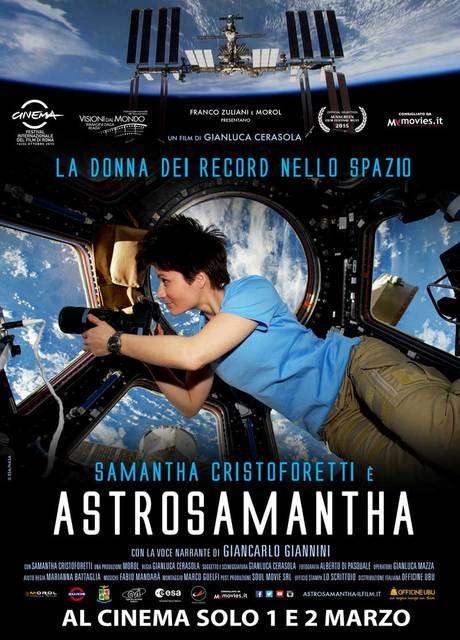 Astrosamantha – la donna dei record nello spazio