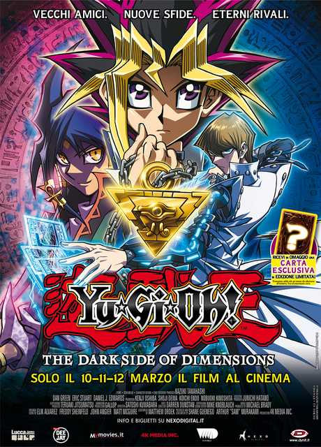 Yu-Gi-Oh! Il Film – The Dark Side Of Dimensions