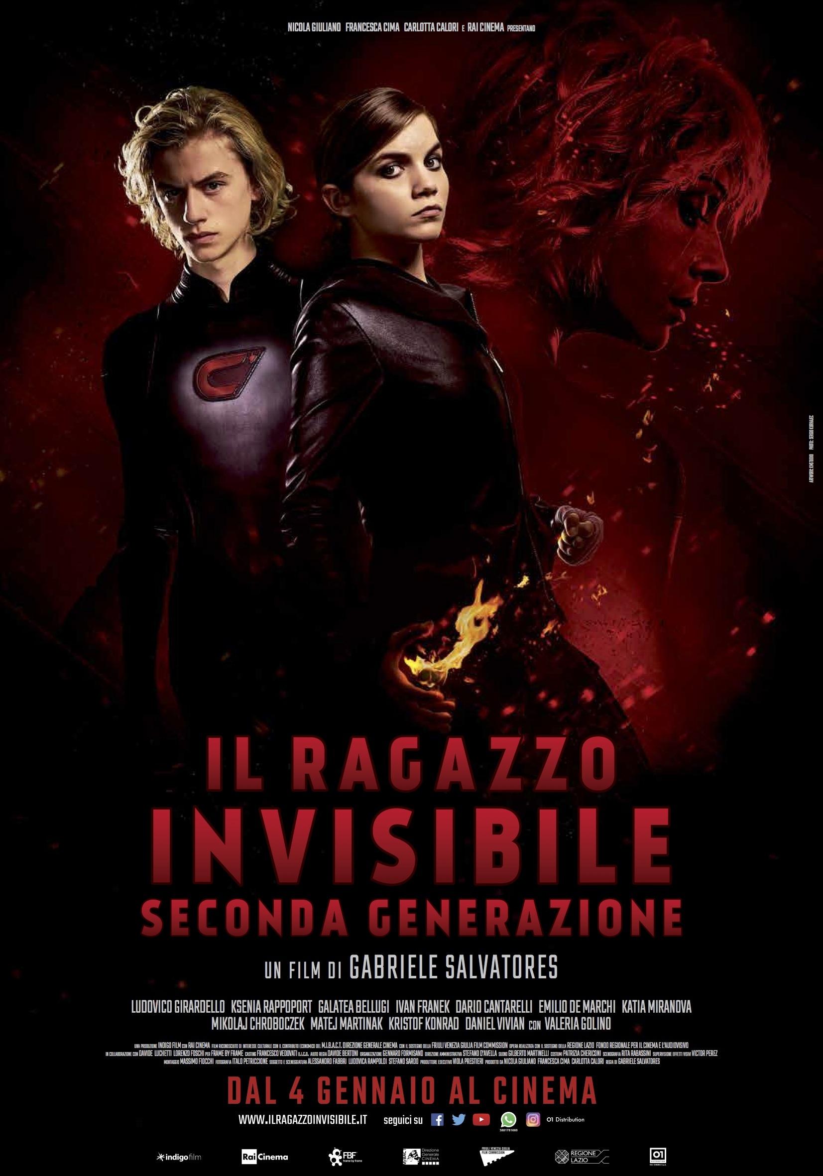 Il Ragazzo Invisibile - Seconda Generazione