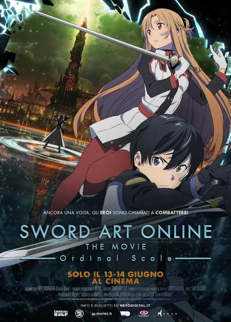Sword Art Online. Ordinal Scale – The Movie