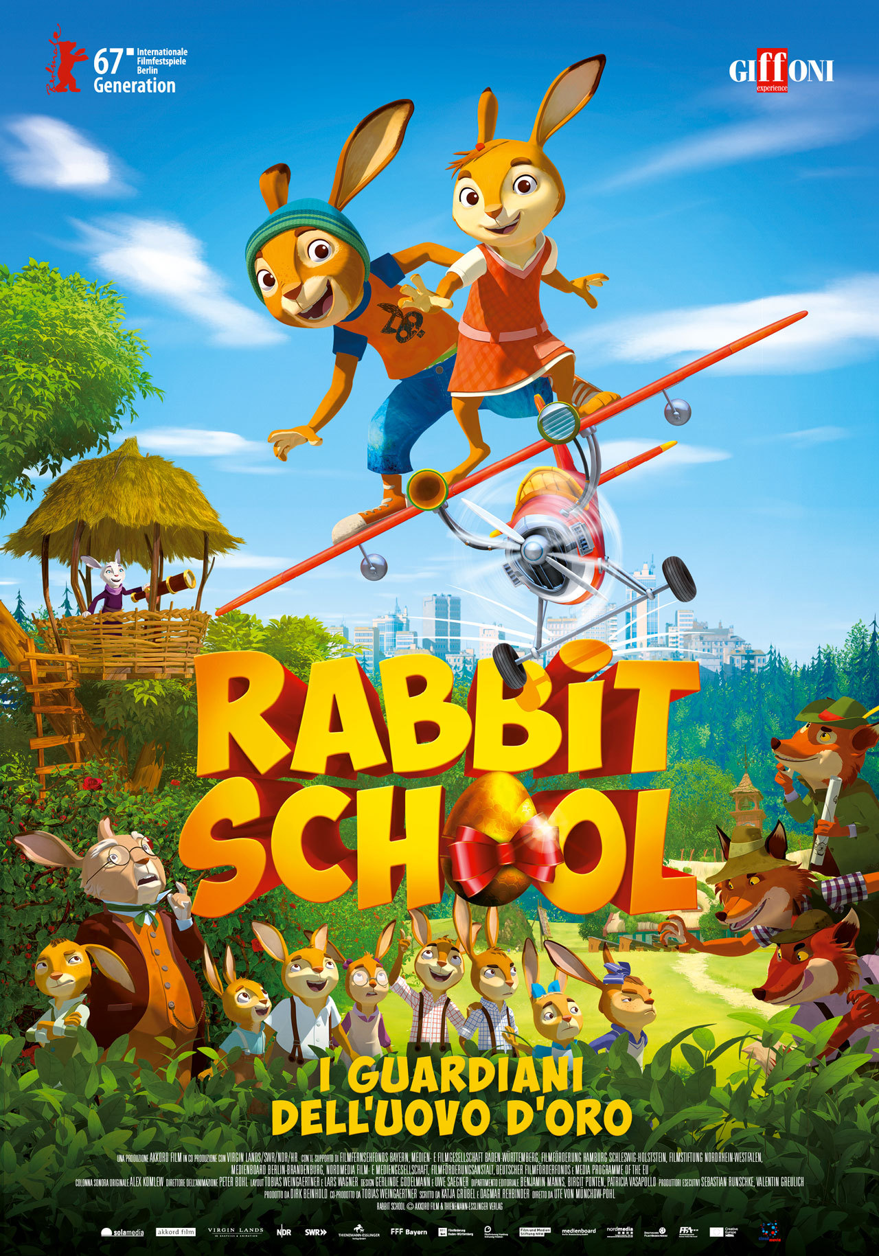 Rabbit School - Guardians of the Golden Egg