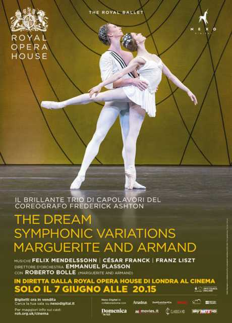 Royal Opera House: The Dream, Symphonic Variations, Marguerite and Armand