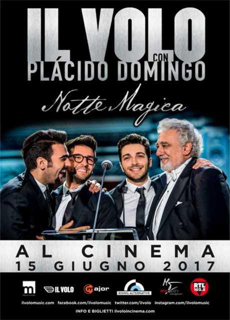 Il Volo con Placido Domingo - Notte magica al cinema