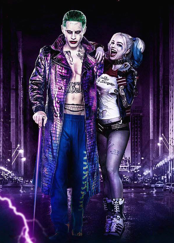 Harley Quinn vs. The Joker